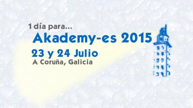 1 día para Akademy-es 2015
