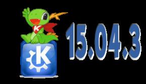 kde aplicaciones 15.04.3