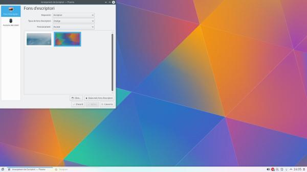 KDE Plasma 5_05