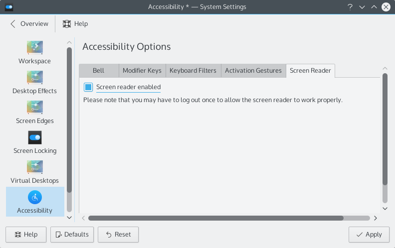 Orca_systemsettings_screen_reader