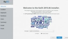 Vídeo de KaOS 2015.08 KDE con Plasma 5