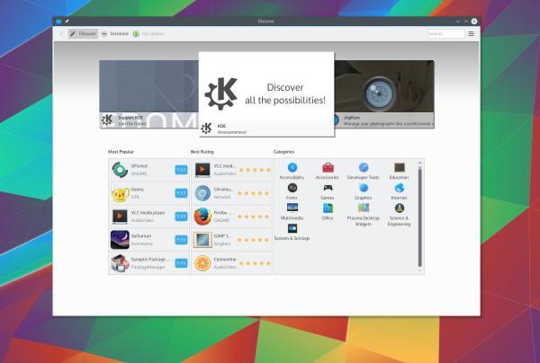 Finaliza el mes y acaba de ser lanzado Plasma 5.5.4, una actualización del escritorio más avanzado de la Comunidad KDE