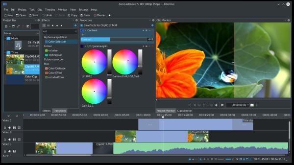 Lanzada la actualización de marzo de KDE Aplicaciones