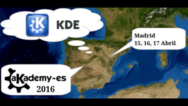 Akademy-es 2016 se celebrará en Madrid