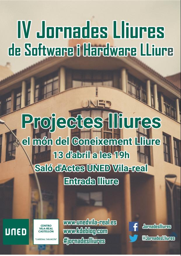 Proyectos Libres en las IV Jornadas Libres