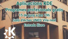 Cartell KDE Aplicacions Jornades lliures_600_350