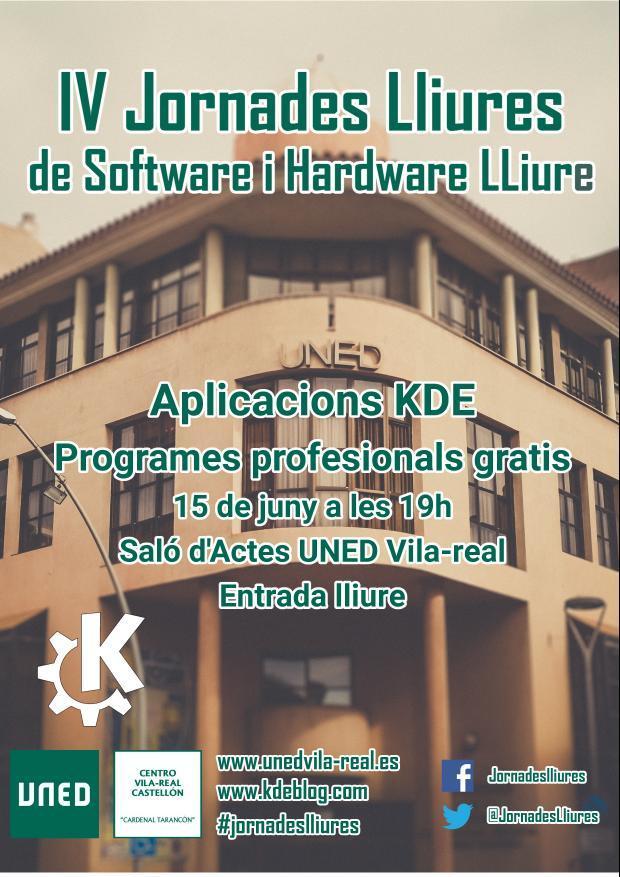 Aplicaciones KDE en las IV Jornadas Libres