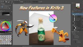 Lanzado Krita 3.0