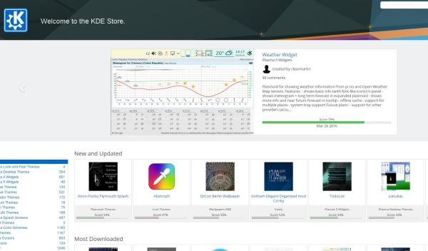Nace KDE Software Store