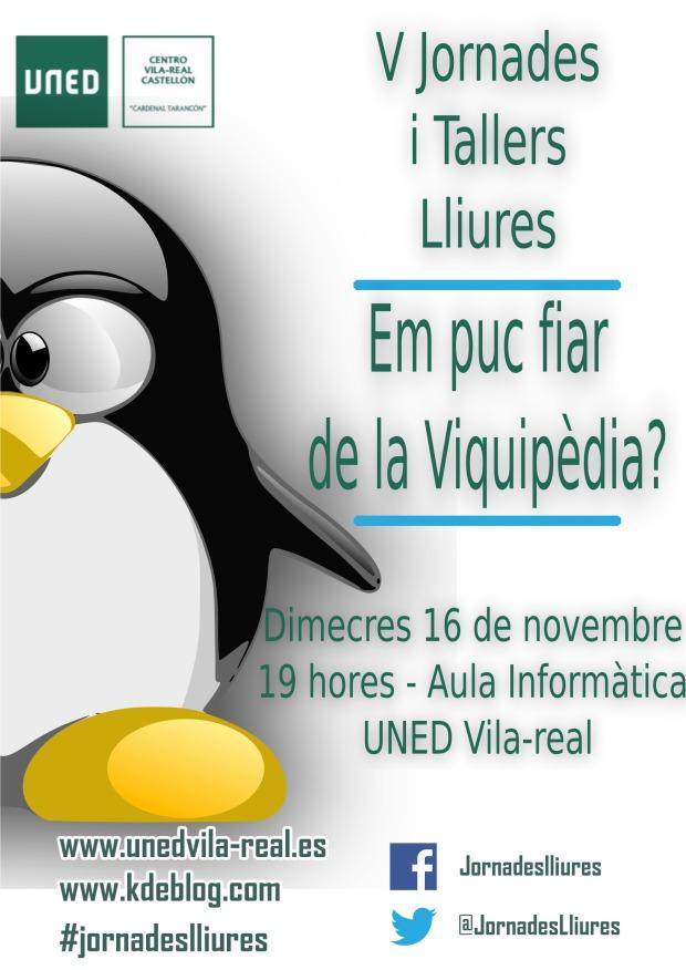 Wikipedia en las V Jornadas