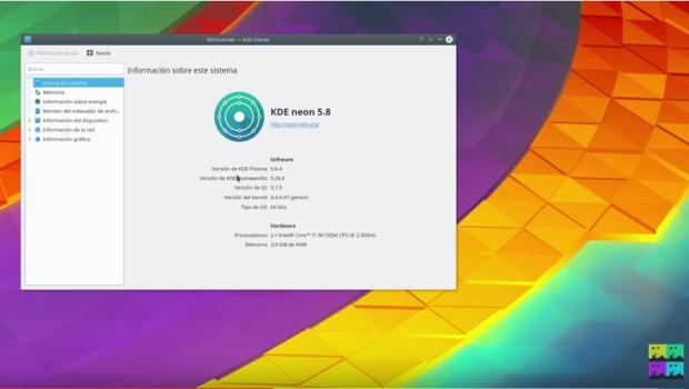 Un paseo por KDE Neon 5.8.4