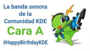Cara A de La banda sonora de la Comunidad KDE