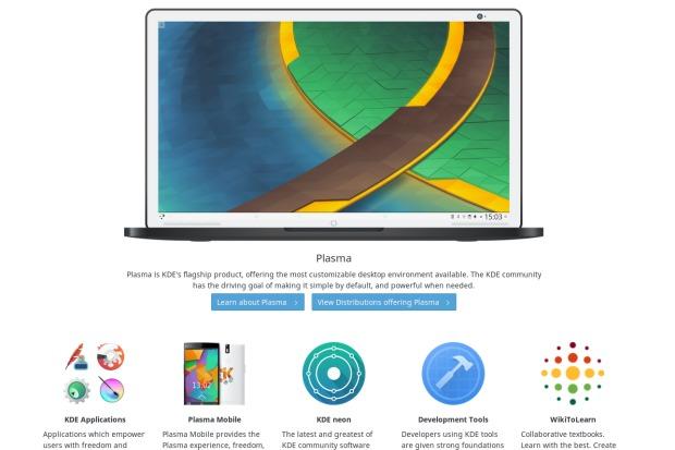 Comunidad KDE estrena nueva web para kde.org