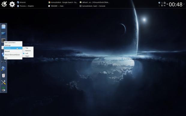 KSmoothDock, un dock alternativo para Plasma 5