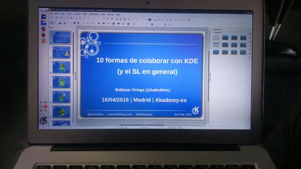 Tercer día Akademy-es 2016 de Madrid