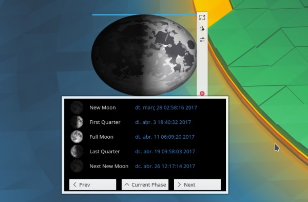 Gealach, una luna alternativa para Plasma 5