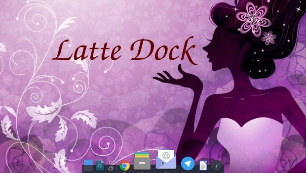Latte Dock será multicolor en Plasma 5.15