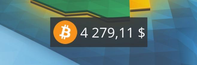 Bitcoin Price, controlando el valor de la moneda – Plasmoides de KDE (79)
