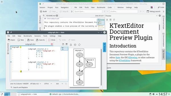 Lanzado KDE Aplicaciones 17.12
