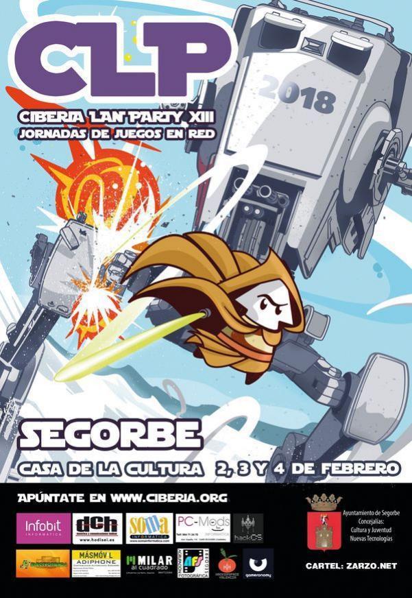 Vuelve Ciberia Lan Party 2018 de Segorbe