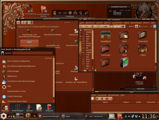 Steampunk Icontheme, dándole un aspecto barroco a tu escritorio