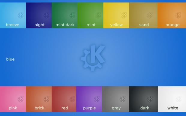 Fondos de Pantalla para Plasma, nueva sección de KDE Store