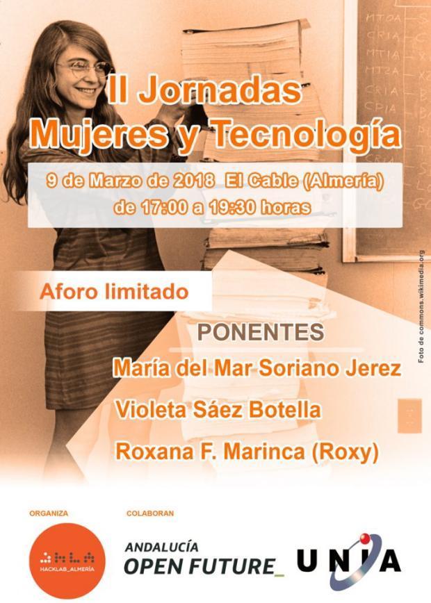 II Jornadas de Mujeres y tecnología