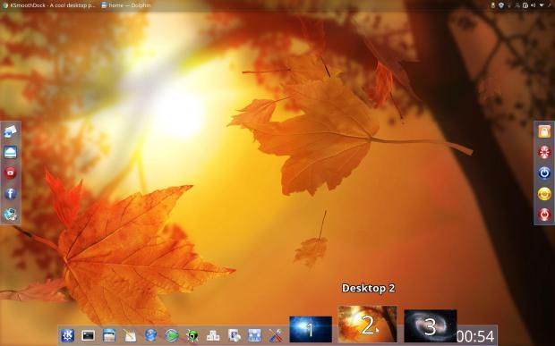 Llega KSmoothDock 5.9 con mejoras visuales