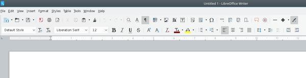 Cómo cambiar el tema de iconos de LibreOffice