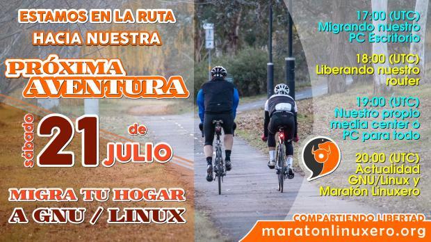 Maratón Linuxero Migra tu Hogar a GNU/Linux 01