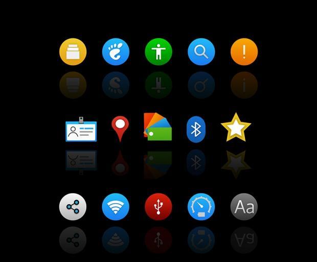 Infinity, un precioso pack de iconos para Plasma