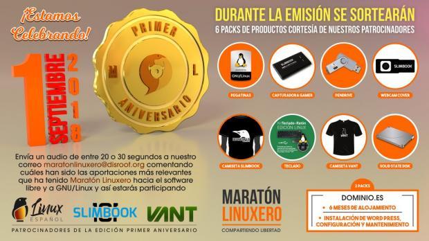 Los sorteos del Maratón Linuxero