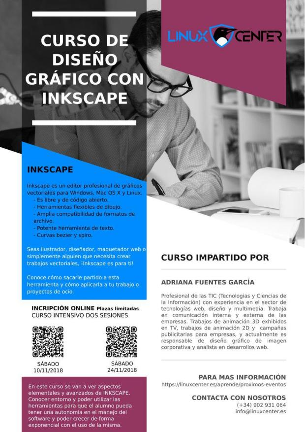 Curso de Inkscape en Linux Center