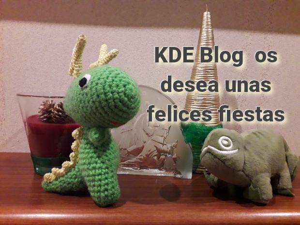 KDE Blog os desea unas felices fiestas 2018