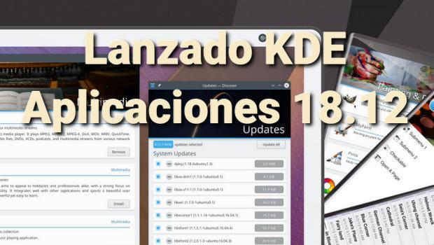 Vídeo de KDE Aplicaciones 18.12