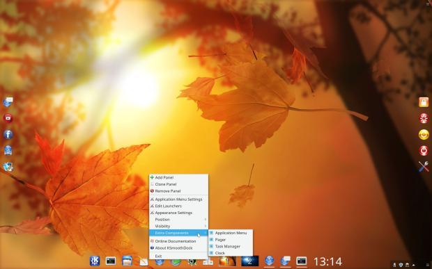 Disponible KSmoothDock 5.15 con nueva forma de ocultación