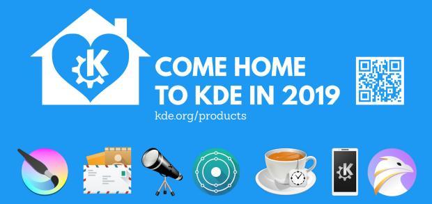 KDE está presente en FOSDEM 2019