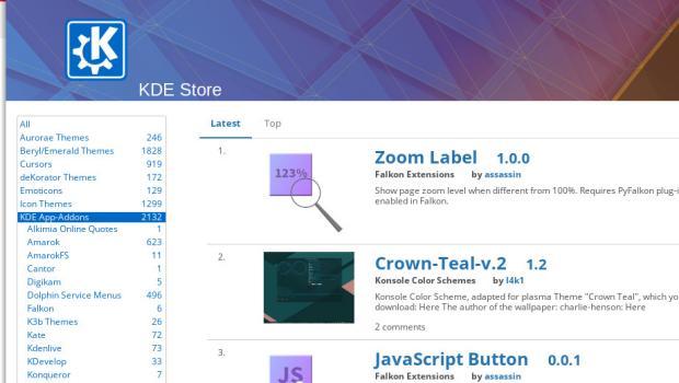 KDE App-Addons, más de dos mil de mejoras para tus aplicaciones KDE