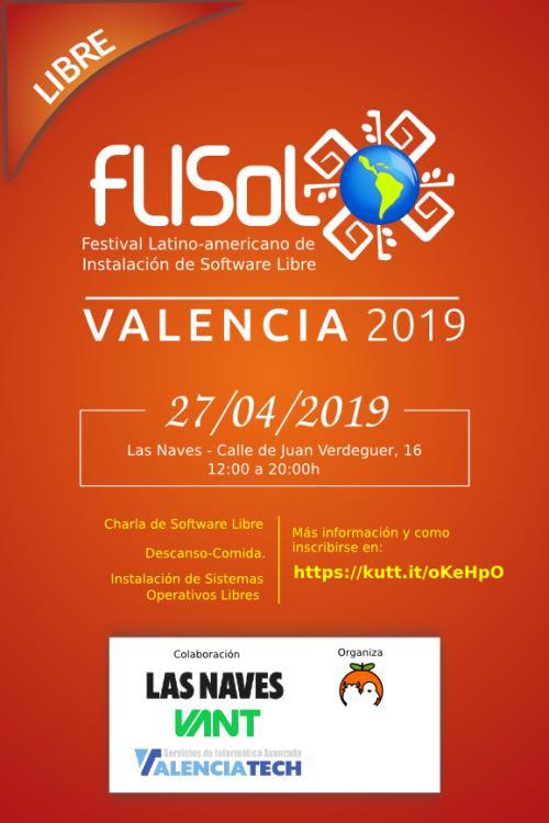 Las sedes de #Flisol 2019 en España