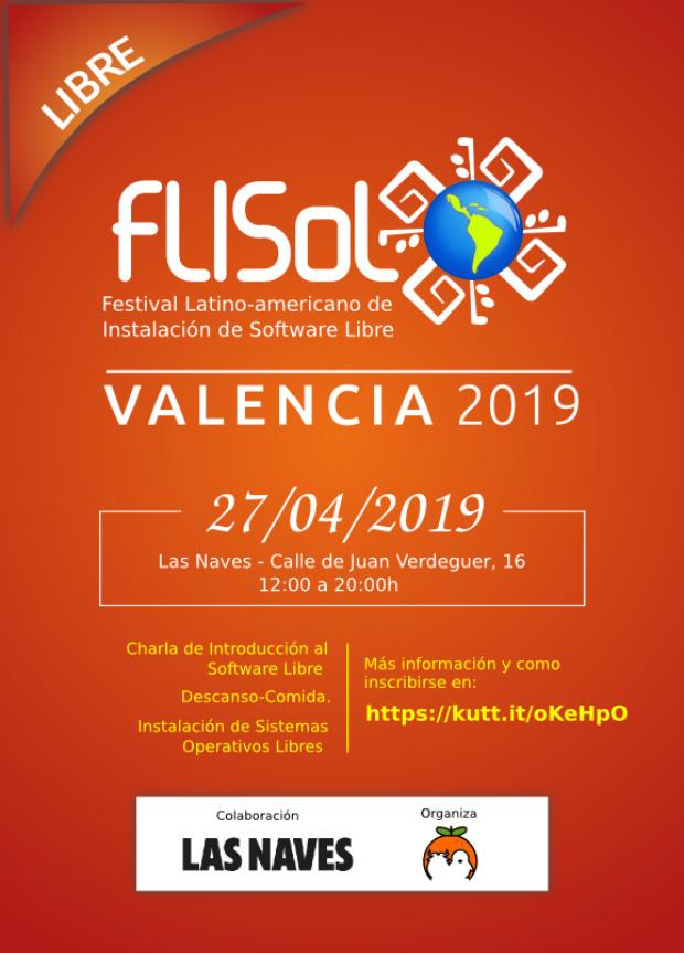 KDE estará presente en Flisol 2019 de Valencia