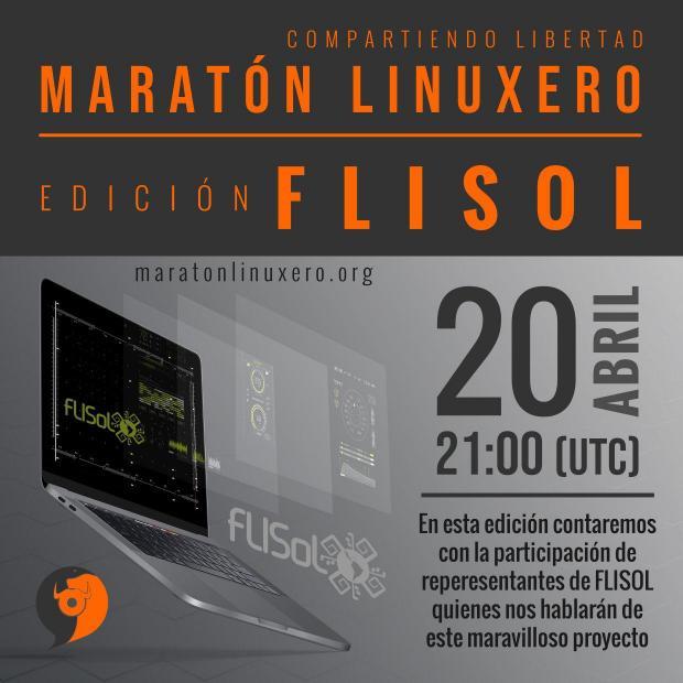 Programa del Maratón linuxero edición Flisol 2019