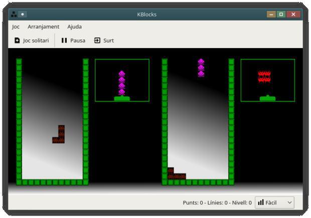 KBlocks, el Tetris de la Comunidad KDE