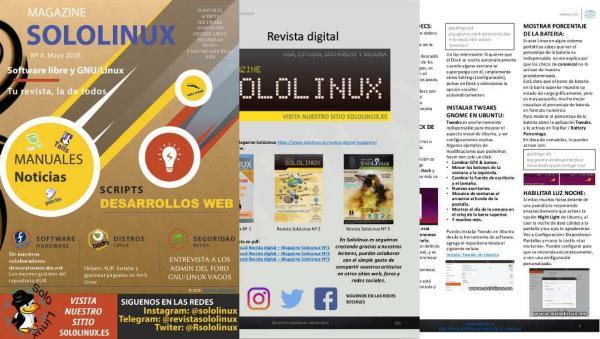 La revista digital de SoloLinux llega a su cuarto número