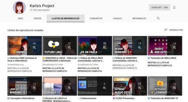 Karla's Project, un canal muy ameno sobre Linux