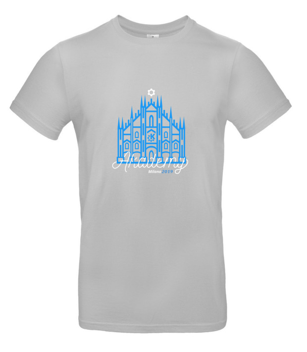 Camisetas para Akademy 2019 de Milán