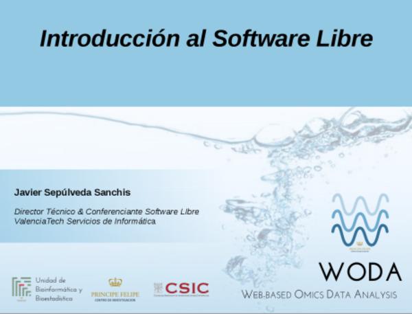 Introducción al Software Libre y distribuciones GNU/Linux
