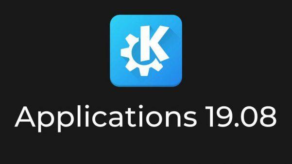 Lanzada la actualización de noviembre de KDE Aplicaciones 19.08