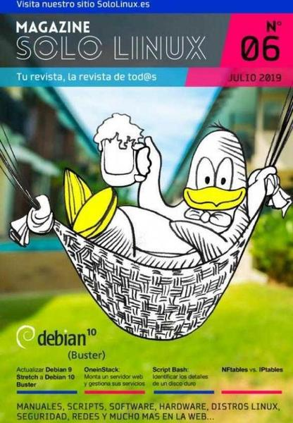 Disponible el sexto número de la revista digital SoloLinux