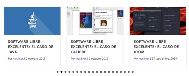 Serie Software Libre Excelente de MasLinux