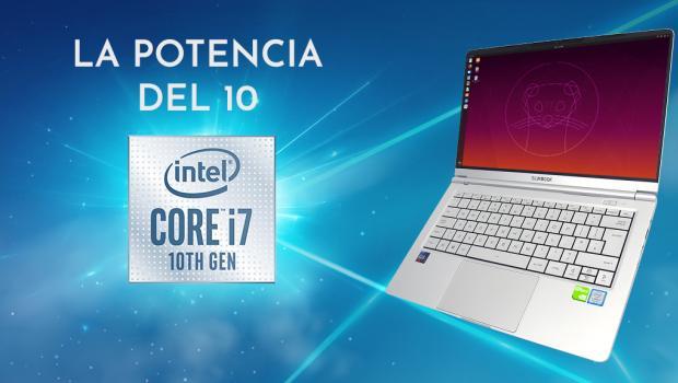 Slimbook ha presentado la 10ª generación de Intel en sus ultrabooks